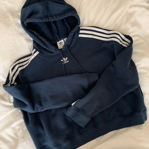Adidas Original Cropped Hoodie